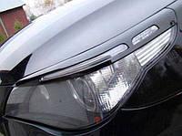 Реснички (накладки фар) для BMW E60 ABS