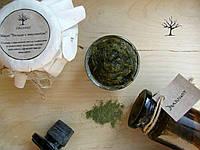 Настоящее марроканское черное мыло бельди на оливковом масле с эвкалиптом, ручная работа, красивое оформление