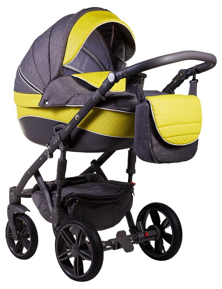 Детская универсальная коляска 2 в 1 Adamex Prince X-14