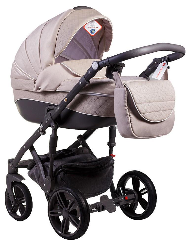 Детская универсальная коляска 2 в 1 Adamex Prince X-19