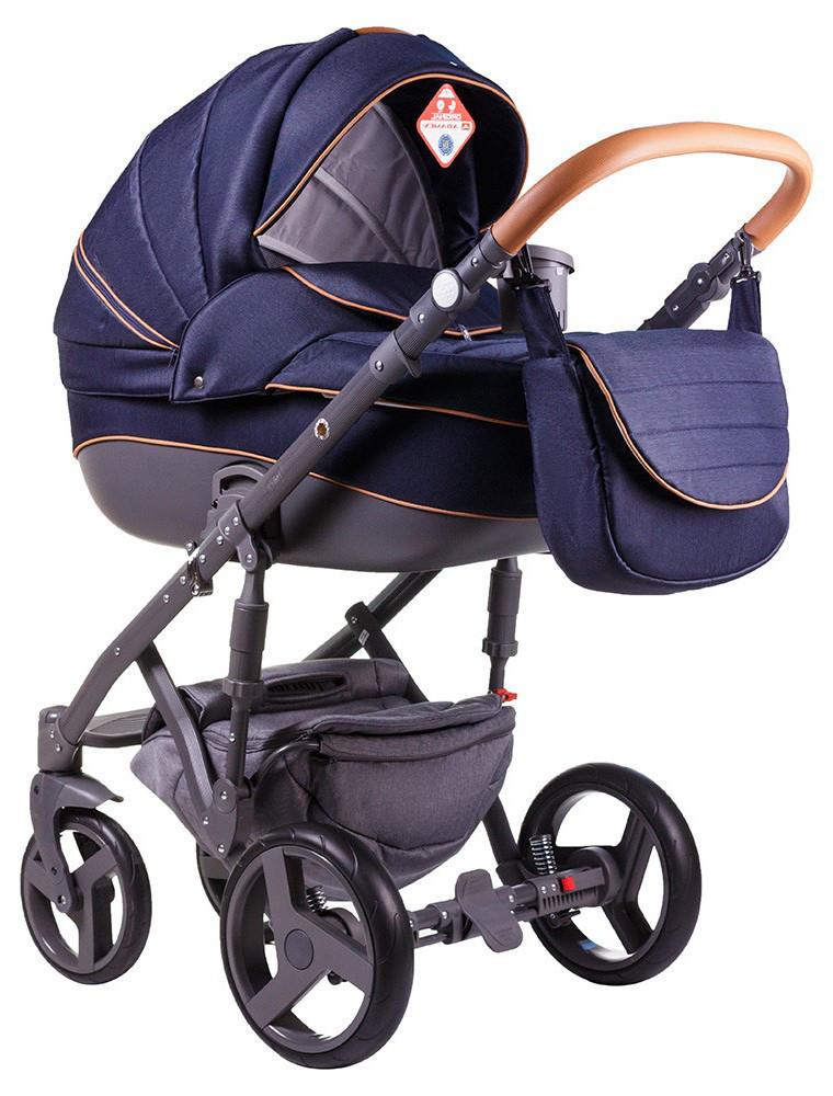 Детская универсальная коляска 2 в 1 Adamex Prince X-3
