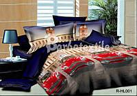 3D Полуторное постельное Ranforce Bentley