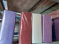 Махровая двуспальная простынь на резинке Frotte 200х240 см разные окрасы
