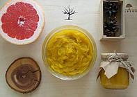 Натуральное мыло бельди Литсея-Грейпфрут-Облепиха, ручная работа, красивое оформление. Для лица и тела