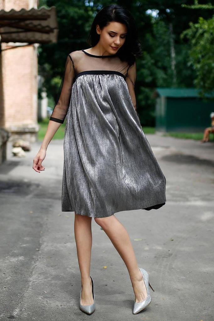 Чёрное платье CATHY