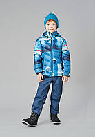 Зимняя куртка пуховик для мальчика Reima 531347-6686. Размеры 104-140., фото 1