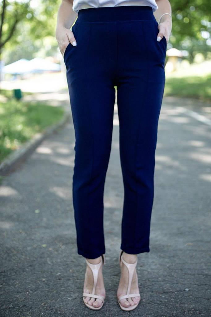 Синие брюки Montana