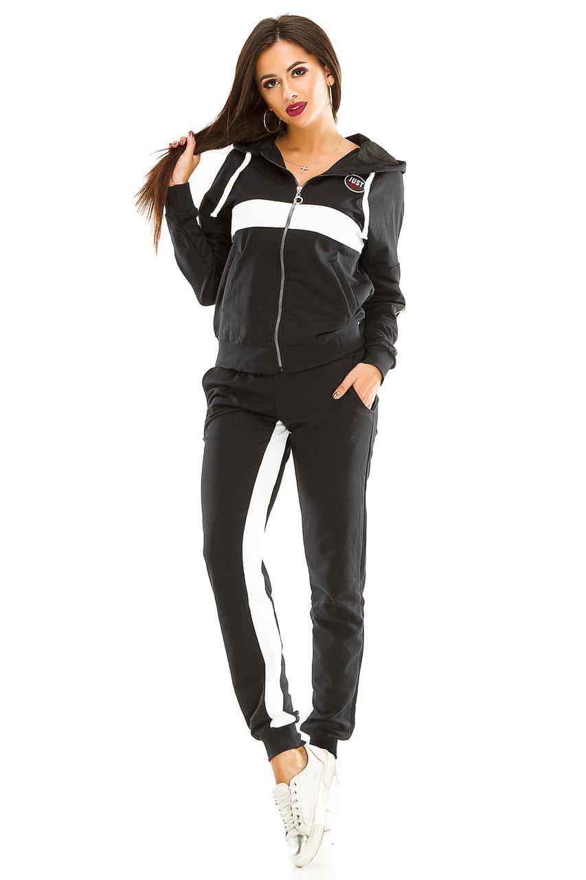 Женский спортивный костюм 433 темно-синий