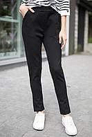 Чёрные брюки-лосины на флисе Bets с высокой посадкой