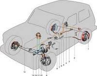 Трубка тормозная НИВА-К регулятору