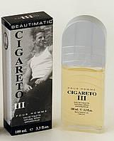 Beautimatic Cigareto 3 (Бьютиматик Сигарето 3) мужская туалетная вода 100 ml, фото 1