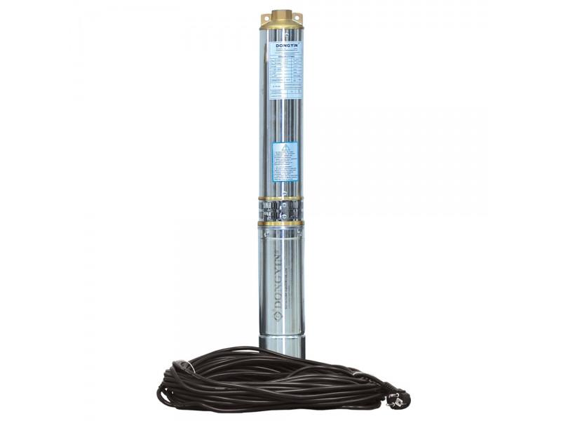Aquatica (аналог ВОДОЛЕЙ 100) 1,1кВт Н 129(108)м Q 55(30)л/мин Д96мм 70м кабеля