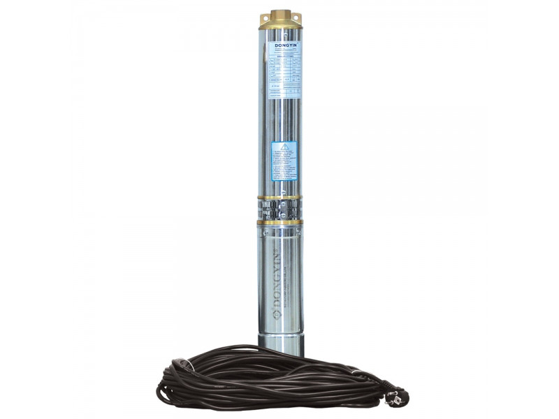 Aquatica(аналог ВОДОЛЕЙ 63) 0,55кВт Н 77(66)м Q 55(30)л/мин Д96мм 45м каб