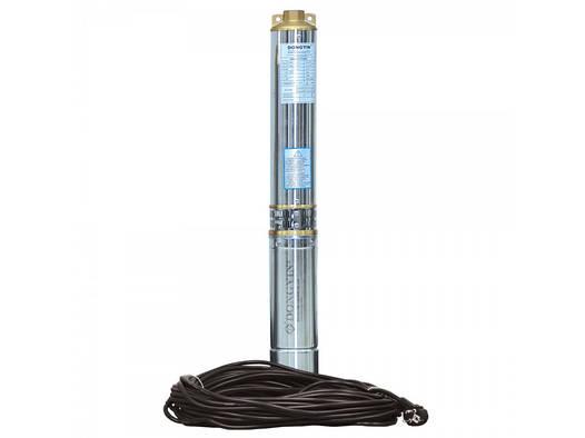 Aquatica (аналог ВОДОЛЕЙ 50)  0,55кВт Н 63(54)м Q 55(30)л/мин Д96мм 40м каб