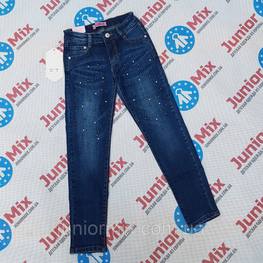 Подростковые джинсы для девочек оптом