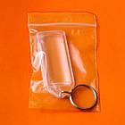 Акриловые заготовки для прямоугольных брелков. Супер-прочные, с фото 20х50 мм, фото 7
