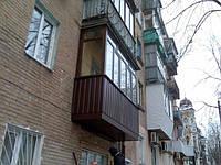 Ремонт балконов под ключ (Отремонтируем, или построим балкон любой сложности, работаем на высоте)