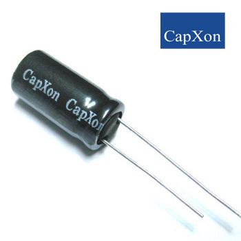 1000mkf - 16v  KM 10*16  Capxon, 105°C конденсатор електролітичний