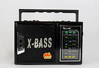 Радиоприемник Golon RX 166 LED портативная колонка USB /SD / MP3/ FM / LED фонарик