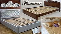 """Кровать двуспальная деревянная """"Анастасия"""", фото 1"""