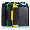 Влагозащищенный Solar Power Bank 20000 mAh на солнечной батарее 2 USB, фото 6