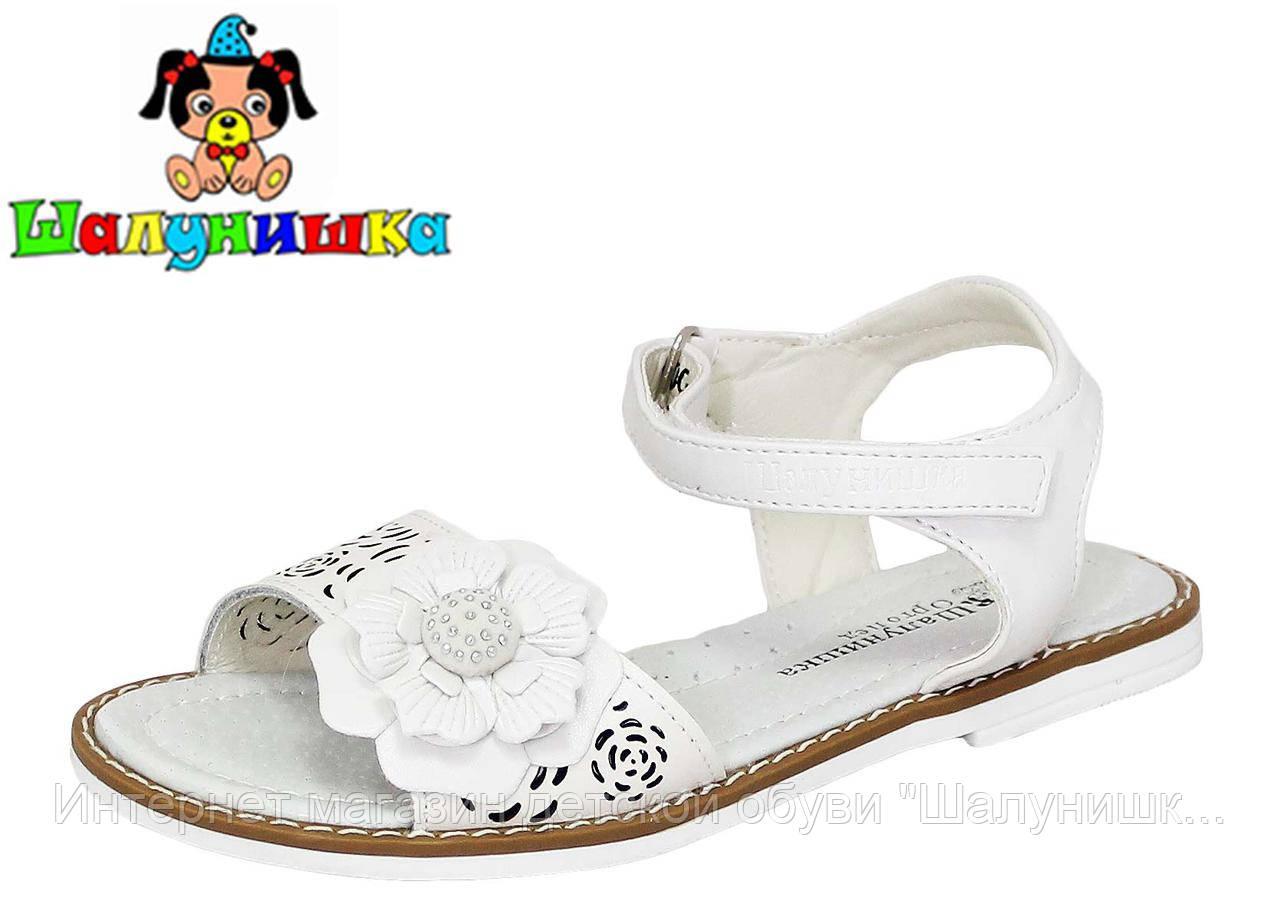 Летние сандалии для девочки 100-312