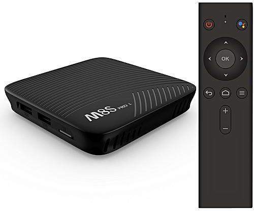 Mecool M8S PRO L 3/16   8 ядер, S912   Голосове керування   IPTV   Смарт ТВ приставка  (+ налаштування)