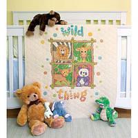 Набор для вышивания крестом Животные//Wild Thing Quilt DIMENSIONS 73249