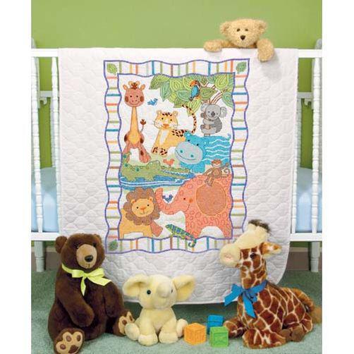 Набор для вышивания крестом Зоопарк/ModZoo Quilt DIMENSIONS 73507
