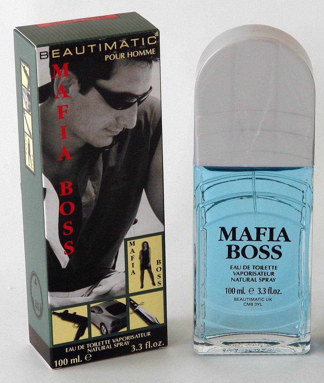 Beautimatic Mafia Boss(Бьютиматик Мафия Босс) мужская туалетная вода 100ml
