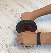 Ролик гимнастический для пресса, колесо для пресса, роллер, роликовый тренажёр, фото 2