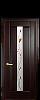 Двери межкомнатные Новый Стиль Премьера (стекло сатин и рисунок Р2) ПВХ DeLuxe
