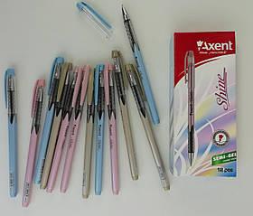 Ручка Масляная Акцент Shine АВ1063-А Синяя 0, 7мм Axent Германия