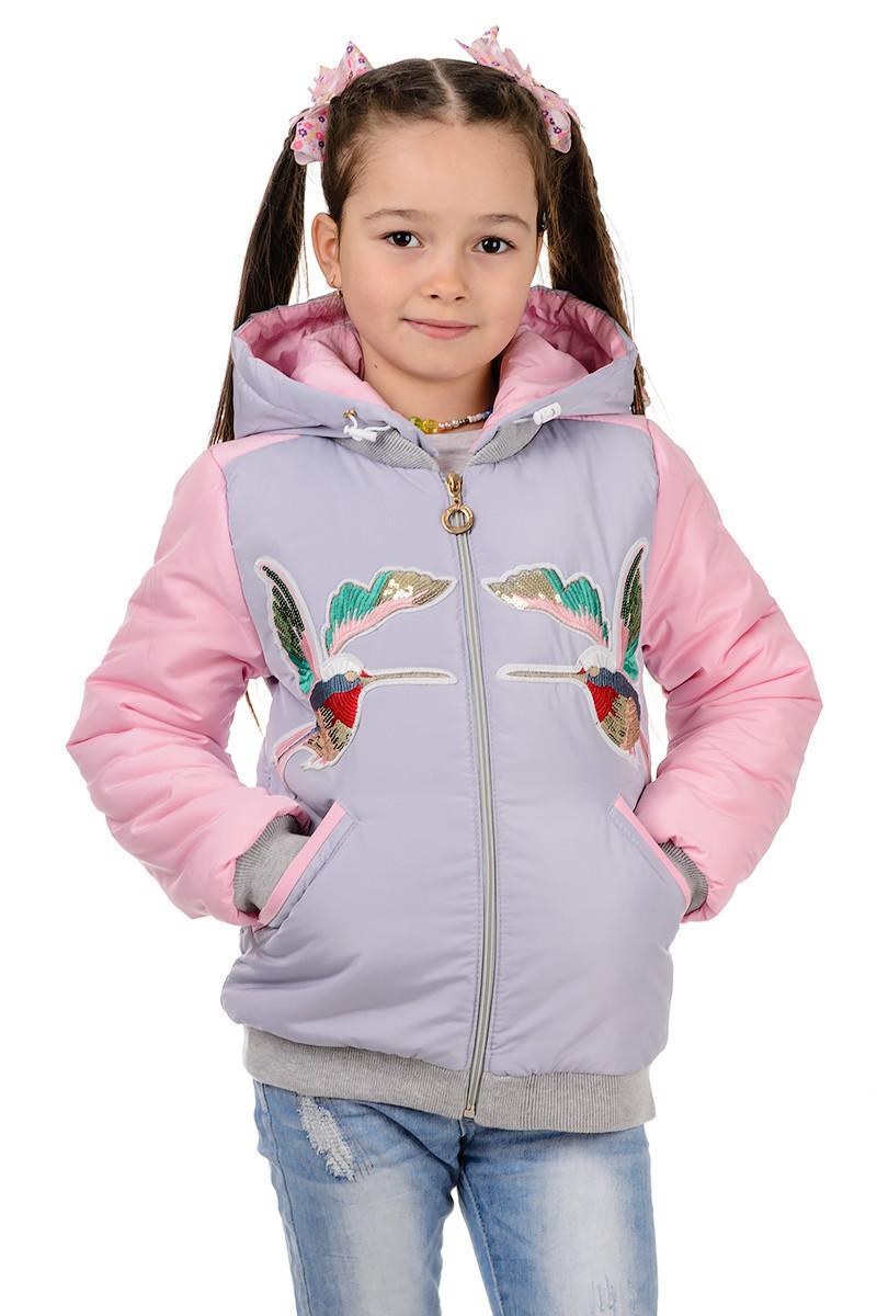 Куртки для девочек весенние  от производителя  32-40
