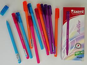 Ручка Масляная Акцент Mellow АВ1064-А синяя 0,7 мм Axent Германия