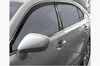 Ветровики с хромом (HIC, 2 шт) - Lexus LS460