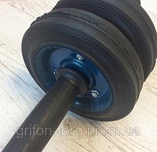Ролик для пресса, колесо для пресса, металический  ролик на подшипнике, гимнастический ролик, роллер