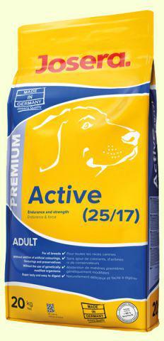 "Корм для собак ""Josera"" Active neicher  0,9кг (шт.)"