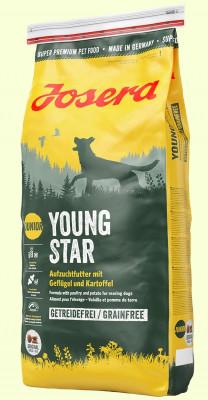 """Корм для собак """"Josera"""" YoungStar 0,9кг(шт.) беззерновой щенки"""
