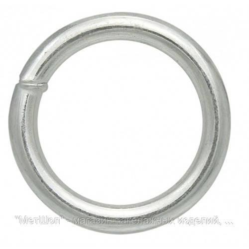 Кольцо оцинкованное 6х35