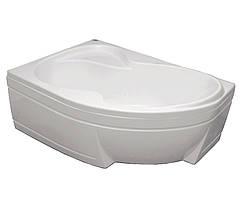 Акриловая ванна Bisante Роза (Левая) 1400х1050х580 мм