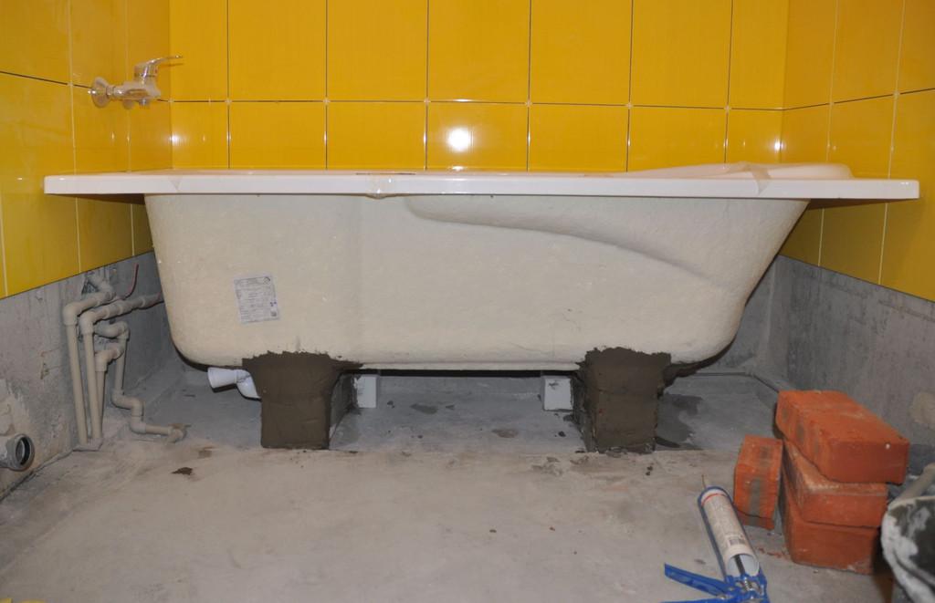Установка ванны в Днепропетровске