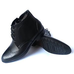 Классические мужские ботинки IКОС на натуральном меху