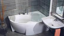 Акриловая ванна Bisante Роза (Левая) 1500х1050х580 мм, фото 3