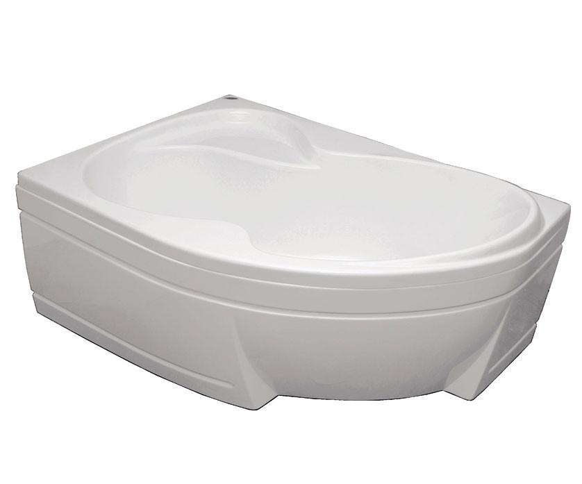 Акриловая ванна Bisante Роза (Левая) 1500х1050х580 мм