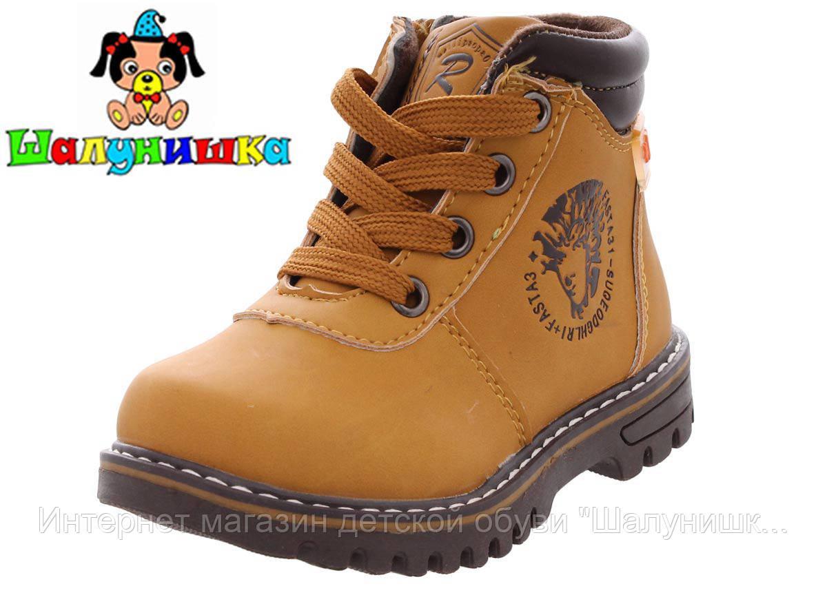 Демисезонные ботинки для мальчика 300-334