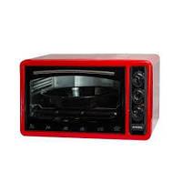 Электрическая духовка ASEL AF - 0023 объёмом 33 литра Турция ( красная )