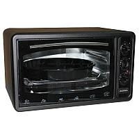 Электрическая духовка ASEL AF - 0023 объёмом 33 литра Турция ( черная )