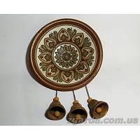 Тарелка с колокольчиками керамическая