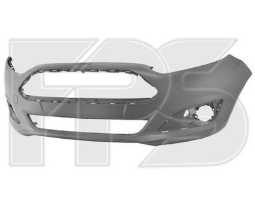 Передний бампер Ford Fiesta VI (13-17) грунтованный (FPS), фото 2